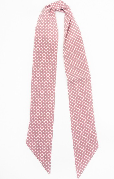 Retro Dotted Hair Scarf - orangeshine.com