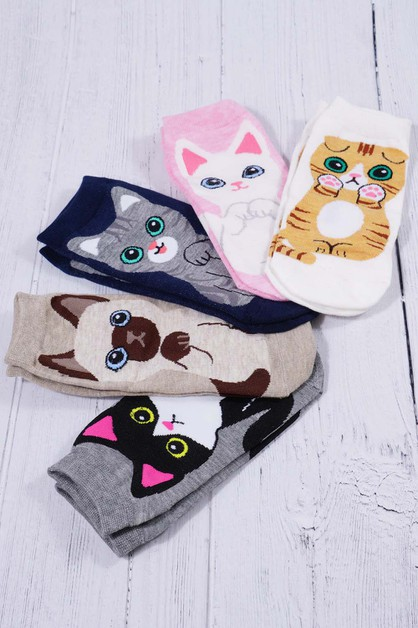 Cat Socks - orangeshine.com