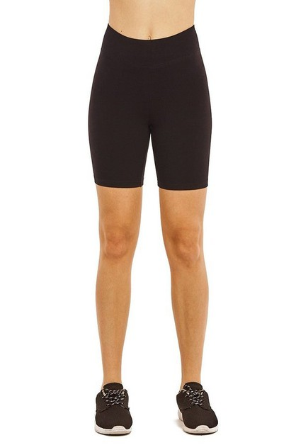 Cotton lycra biker shorts - orangeshine.com
