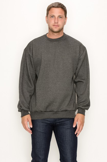 Crew Neck Heather Regular Sizes - orangeshine.com
