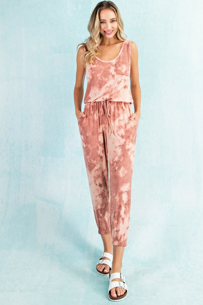 TONAL CLOUD TIE DYE JUMPSUIT - orangeshine.com