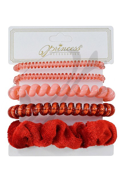 5-pc Hair Tie Set - orangeshine.com