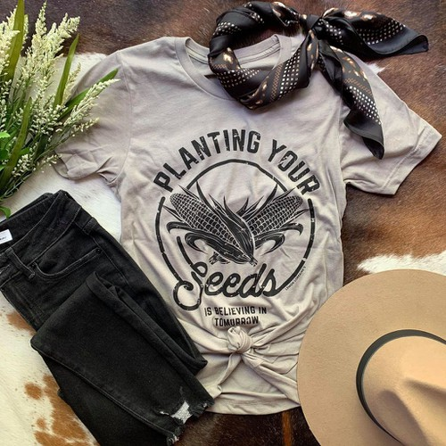 Planting Your Seeds GRAPHIC TEES - orangeshine.com