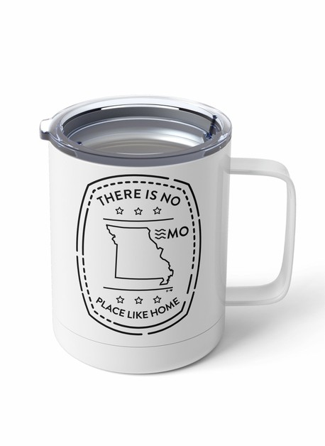Travel Stamp State Steel Tumbler Mug - orangeshine.com