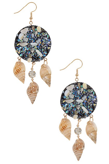 Sea Life Dangle Earring - orangeshine.com