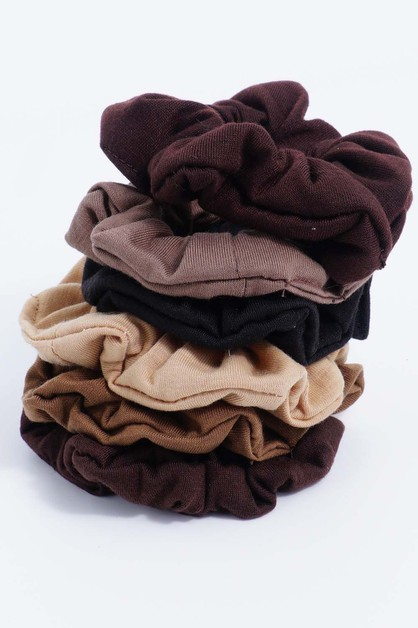 Nuetral Scrunchies - orangeshine.com