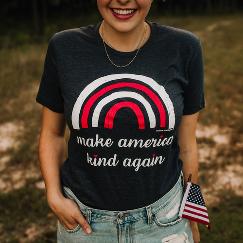 MAKE AMERICA KIND AGAIN TEES - orangeshine.com