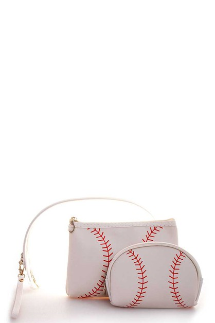 3IN1 FASHION BASEBALL CLUTCH WITH HA - orangeshine.com