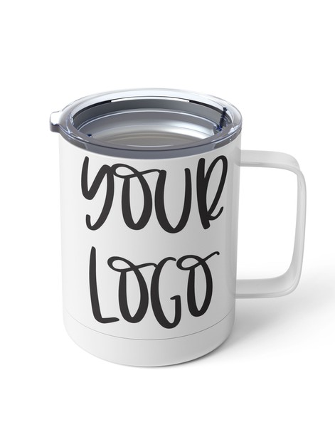 Custom Logo Metal Mug - orangeshine.com