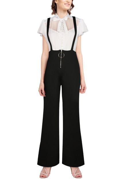 High Waist Flare Pants - orangeshine.com