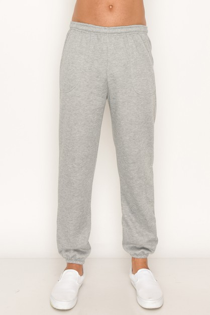 Heavy Sweatpants Heather Big Size - orangeshine.com