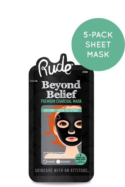 RUDE COSMETIC BEYOND BELIEF CHARCOAL - orangeshine.com