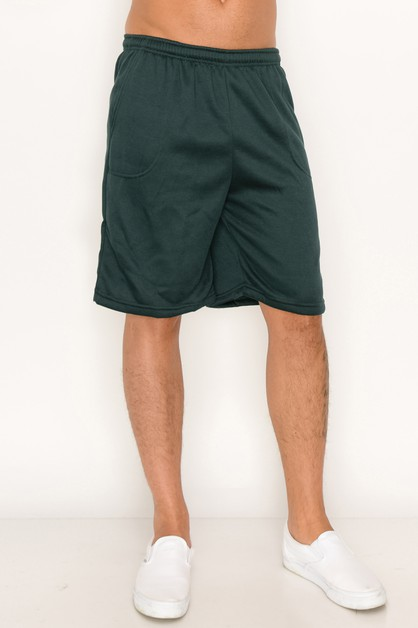 Short Pants Solid Regular - orangeshine.com