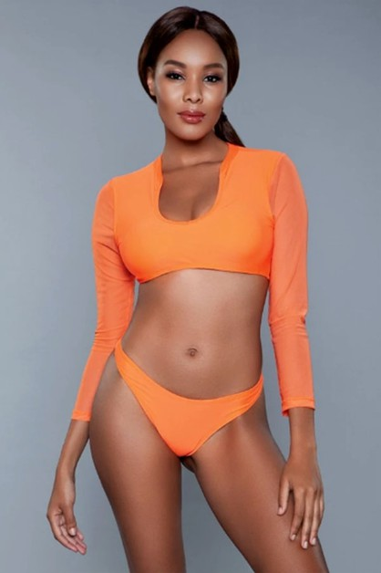 Cardi Swimsuit - orangeshine.com