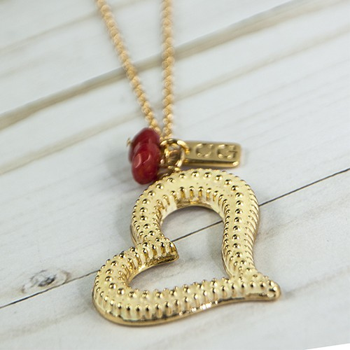 The Heart Necklace - orangeshine.com