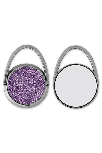 Purple Glitter Phone Grip - orangeshine.com