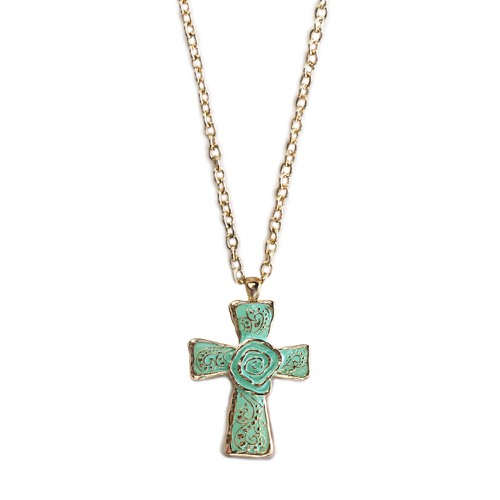 The Cross Necklace - orangeshine.com
