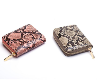Python Zipper Wallet - orangeshine.com