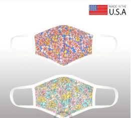 Flower Patterned 3D Reusable Mask - orangeshine.com