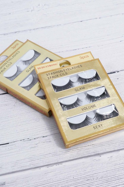 3 Set Lashes - orangeshine.com