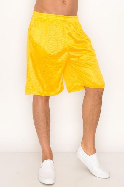 Mesh Shorts Regular Size - orangeshine.com
