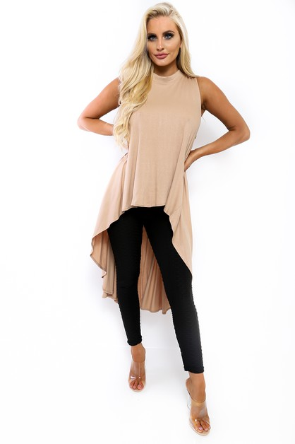 HI LOW MAXI TUNIC TOP - orangeshine.com