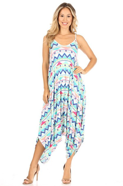 Harem Jumpsuit in Prints - orangeshine.com
