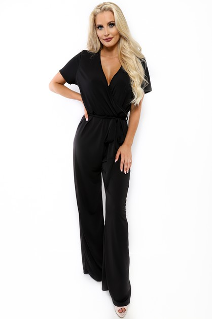 WIDE LEG JUMPSUIT  - orangeshine.com