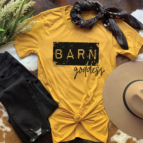 Barn Goddess Graphic Tees - orangeshine.com
