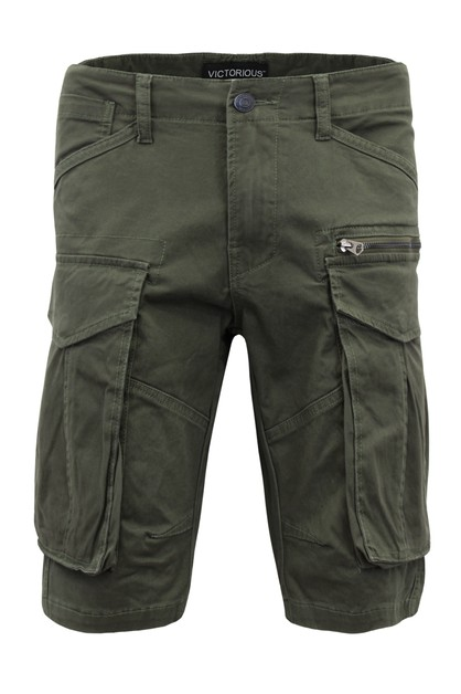 MEN BIG CARGO ZIPPER COLOR SHORTS - orangeshine.com