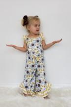 Sunflower Girls Romper - orangeshine.com