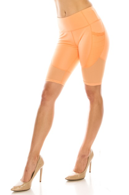 Fashion biker shorts  - orangeshine.com