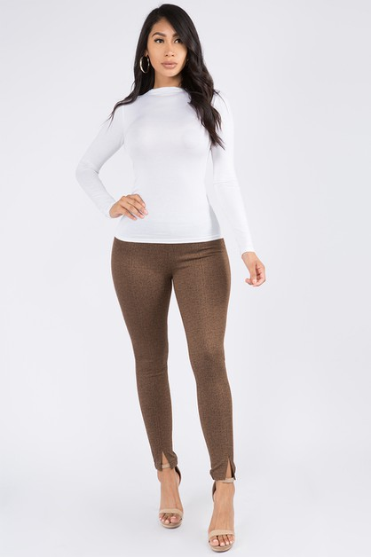SLIM FIT LEGGINGS - orangeshine.com