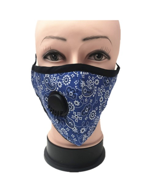 Paisley Face mask  - orangeshine.com