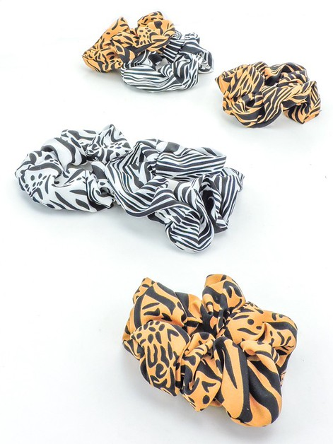 Show Your Stripes Scrunchie Set - orangeshine.com