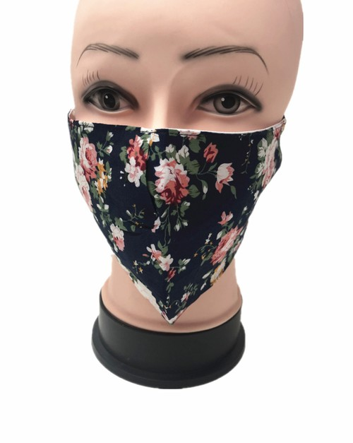 Floral Face mask - orangeshine.com