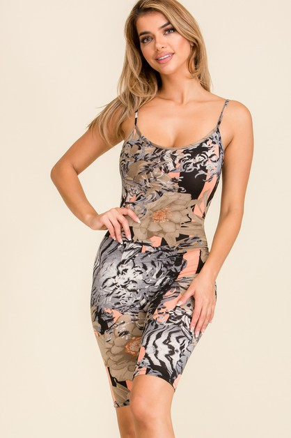 Womens  Skinny Fit Romper Jumpsuit - orangeshine.com