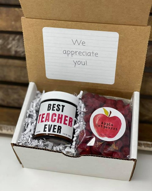 Teacher Gift Boxes - orangeshine.com