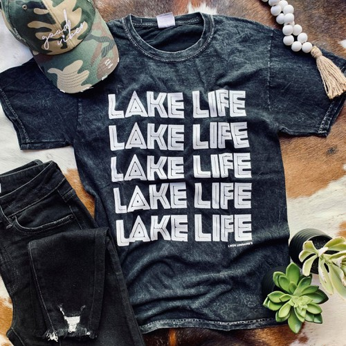 LAKE LIFE Graphic Tees - orangeshine.com
