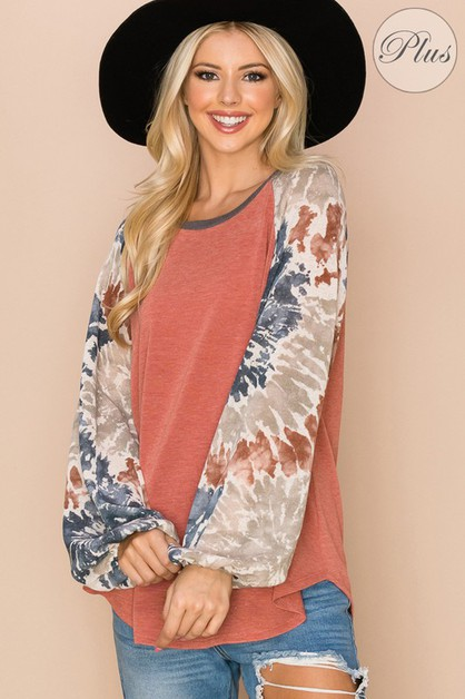 Relaxed Loose Fit Top - orangeshine.com