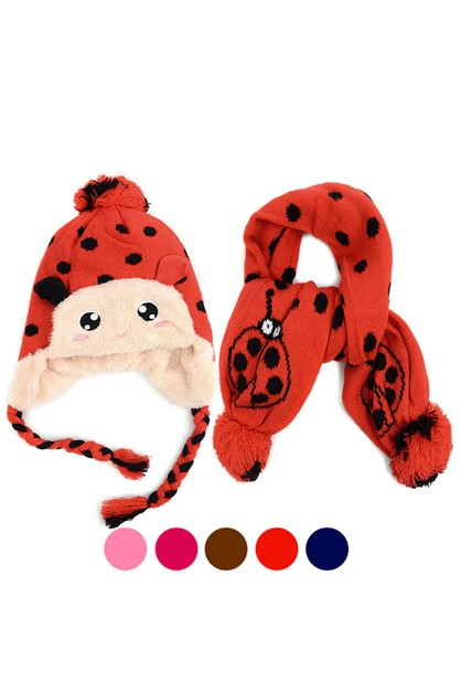 Kids Winter Lady Bug Set - orangeshine.com
