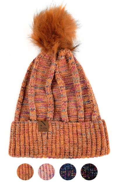 Womens Extra Soft Winter Hat - orangeshine.com