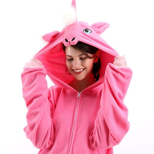 Animal Cosplay Plush Onesie Costume - orangeshine.com