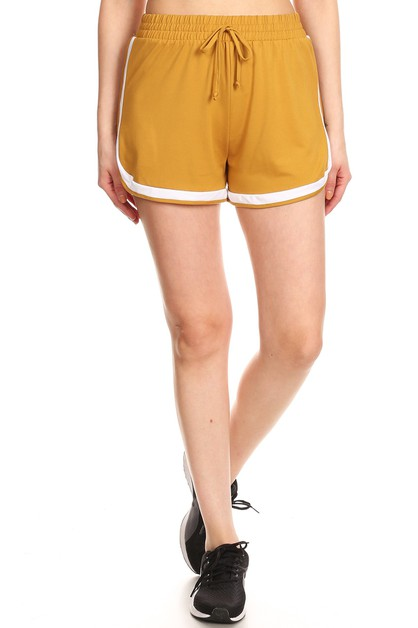 Solid Sports Dolphin Shorts Casual - orangeshine.com