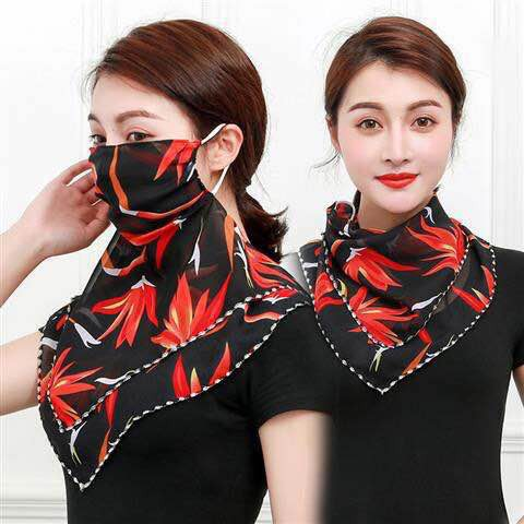 2 in 1 Scarf face mask - orangeshine.com