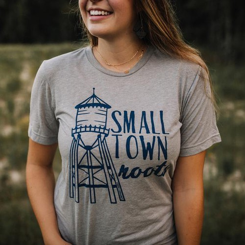 SMALL TOWN ROOTS Graphic Tees - orangeshine.com