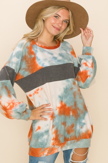 CASUAL COMFY SWEATER TOP - orangeshine.com