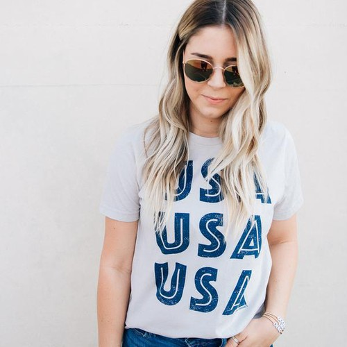 USA USA USA GRAPHIC TEES - orangeshine.com