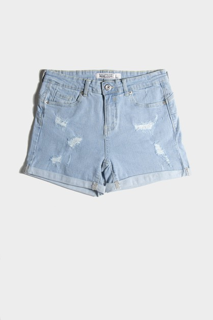 Denim Shorts - orangeshine.com
