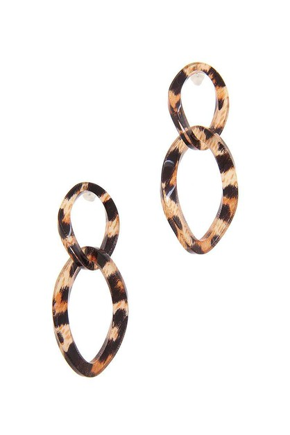 SODAJO ACETATE LINKED EARRING - orangeshine.com